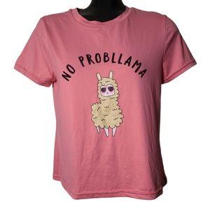 Urban Planet   No Probllama T-Shirt